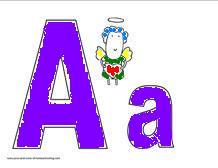 preschool alphabet activities