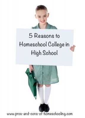 homeschool college