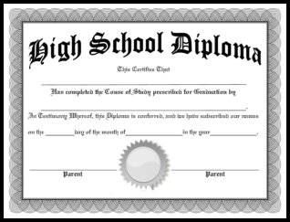 Free homeschool diplomas template download our free homeschool diploma maxwellsz